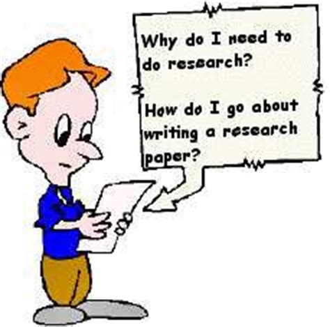 Guidelines research paper outline